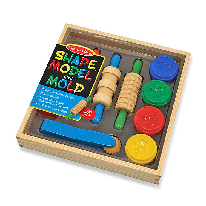 Alternate image 1 for Melissa & Doug® Clay Play ShapeModel & Mold