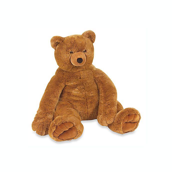 Alternate image 1 for Melissa & Doug® Jumbo Plush Teddy Bear