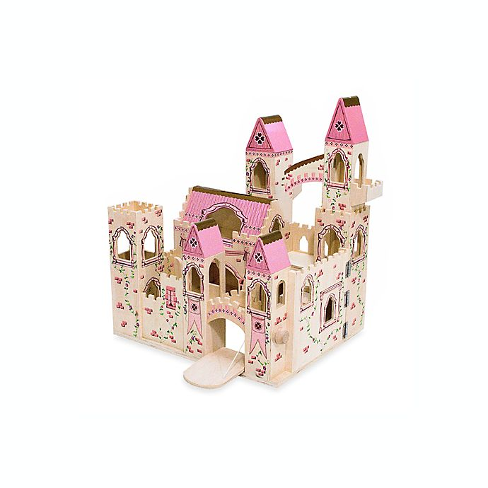 Alternate image 1 for Melissa & Doug® Folding Princess Castle