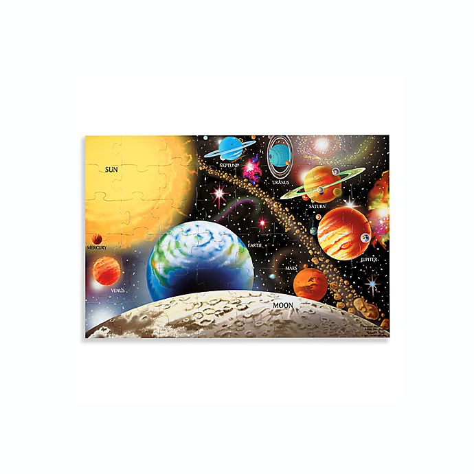 Alternate image 1 for Melissa & Doug® Solar System Floor Puzzle