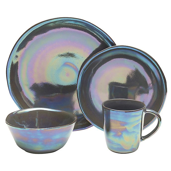 Alternate image 1 for Mikasa® Coronado Dinnerware Collection in Graphite