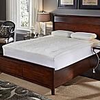 Hotel Laundry 2.5-Inch Memory Foam Queen Mattress Pad in White