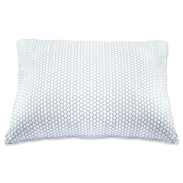 Climate Cool Pillow in White/Blue