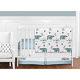 Sweet Jojo Designs Bear Mountain Crib Bedding Collection