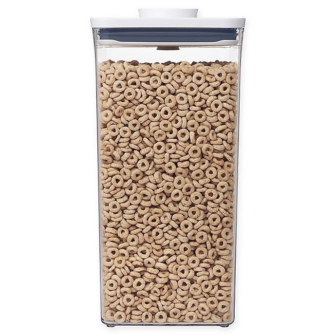 Alternate image 1 for OXO Good Grips® Square Tall 6 Qt. Food Storage POP Container in White
