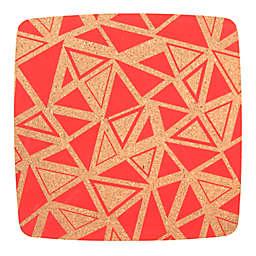 Core Kitchen™ Square Cork Trivet in Geo Strawberry