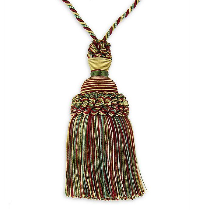 Alternate image 1 for Golden Age Key Tassel Tie Back  in Red/Gold
