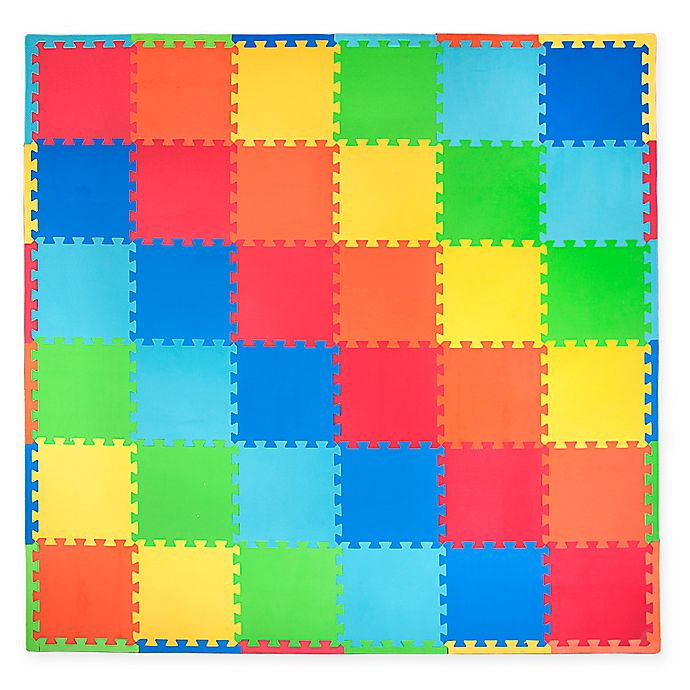 Alternate image 1 for Tadpoles™ by Sleeping Partners 36-Piece Playmat Set