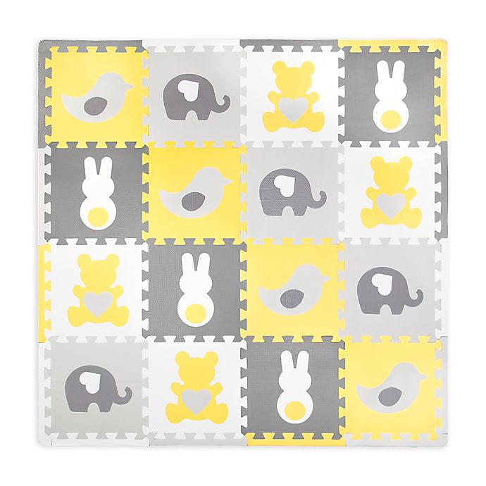 Alternate image 1 for Tadpoles™ by Sleeping Partners 16-Piece Whimsical Play Mat