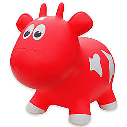 Farm Hoppers Cow Inflatable Animal Bouncer in Red
