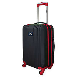 Mojo Olympics Team USA 21-Inch Hardcase Carry On Spinner in Black/Red