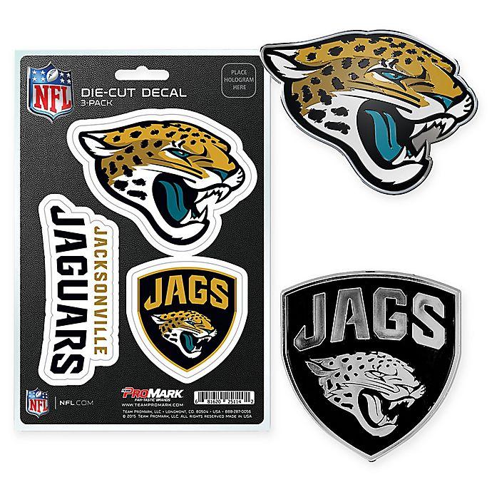 ea0b3730 NFL Jacksonville Jaguars 3-Pack Auto Emblem Kit | Bed Bath & Beyond