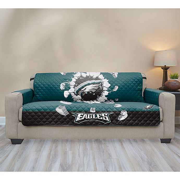 Nfl Philadelphia Eagles Explosion Sofa Cover Bed Bath Beyond