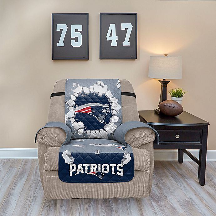 Nfl New England Patriots Explosion Recliner Cover View A Larger Version Of This Product Image