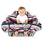 Balboa Baby® Shopping Cart and High Chair Cover in Navy/Red Stripe