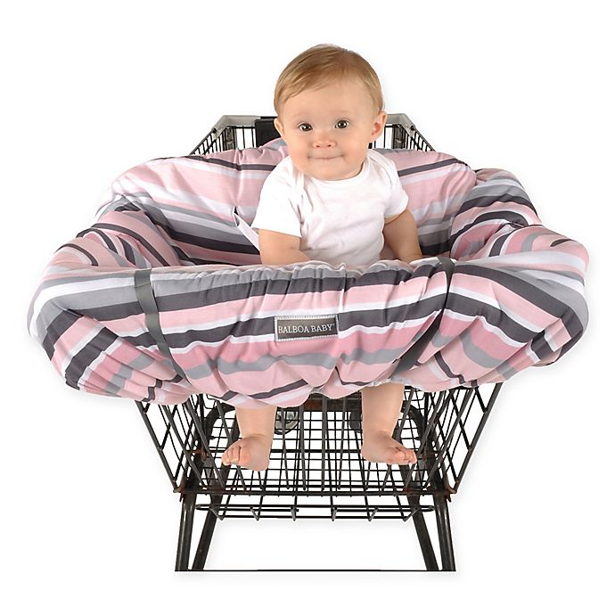 Alternate image 1 for Balboa Baby® Shopping Cart and High Chair Cover