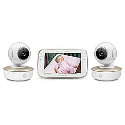 "Motorola® MBP50-G2 Portable 5"" Video Baby Monitor with 2 Cameras"