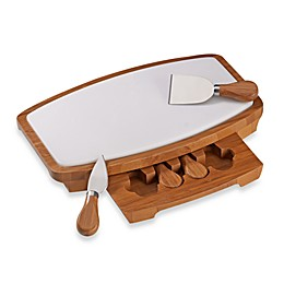B. Smith® 5-Piece Marble Cheese Board Set