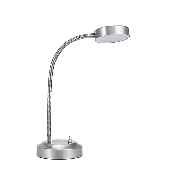 Studio 3b Led Desk Lamp In Brushed Nickel With Usb Charging Station