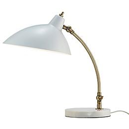 Adesso® Peggy Desk Lamp in White