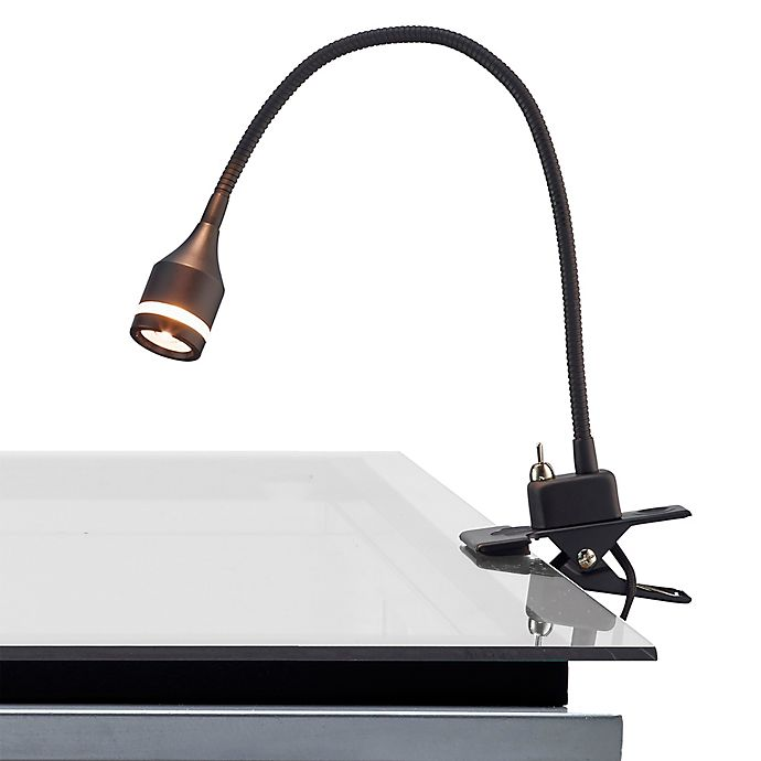 Alternate image 1 for Adesso® Prospect LED Clip Lamp in Black