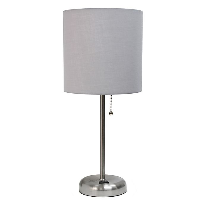 Alternate image 1 for LimeLights Stick Lamp with Charging Outlet