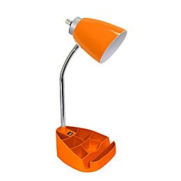 LimeLights Organizer Lamp with Stand and USB Port