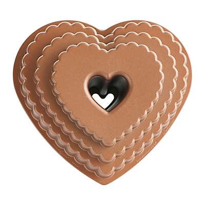 Nordic Ware® Tiered Heart Bundt Pan
