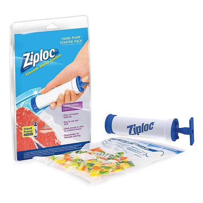 Ziploc® 6-Piece Hand Pump Vacuum Sealer Starter Set