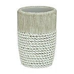 Bacova Cordata Resin Tumbler in Grey