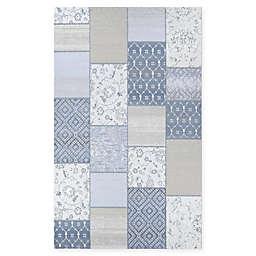 Couristan® Marina Unison 6'6 x 9'6 Area Rug in Slate Blue/Pearl