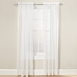 Arratez Rod Pocket Sheer Window Curtain Panel