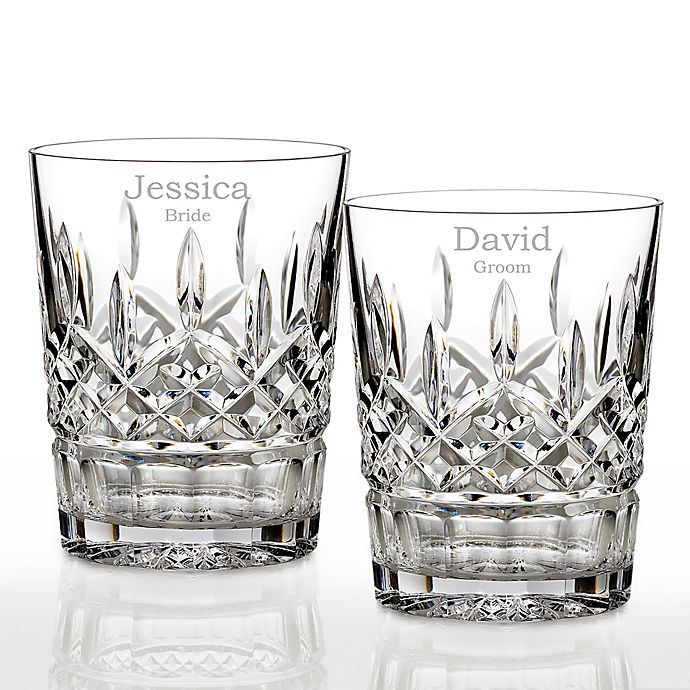 Alternate image 1 for Waterford® Lismore Double Old Fashioned Glasses (Set of 2)