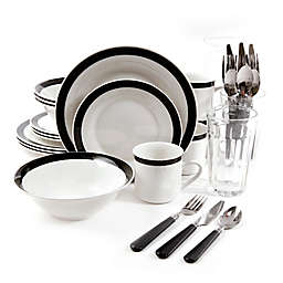 Gibson Home Es 32 Piece Combo Dinnerware Set