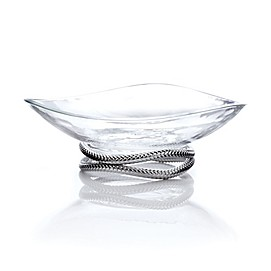 Nambe Braid Centerpiece Bowl