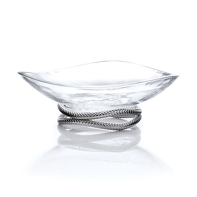 Alternate image 1 for Nambe Braid Centerpiece Bowl