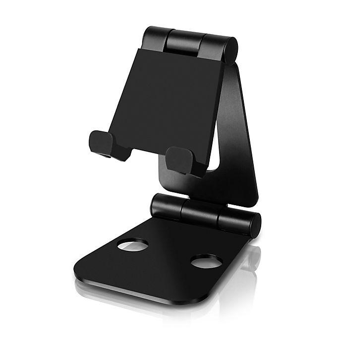 Alternate image 1 for Aluratek Universal Foldable Smartphone Stand in Black