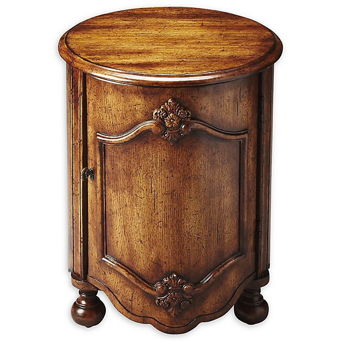 Alternate image 1 for Butler Furniture Company Kenwood Drum Table in Dark Toffee