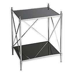 Butler Deidre Glass & Metal End Table