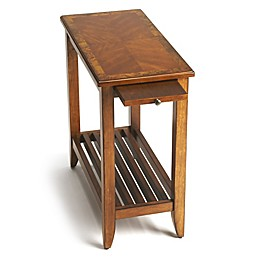 Butler Specialty Company Irvine Chairside Table in Olive Ash Burl