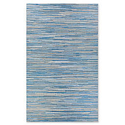 Couristan® Coastal Breeze 2' x 3'7 Indoor/Outdoor Accent Rug in Ocean/Champagne