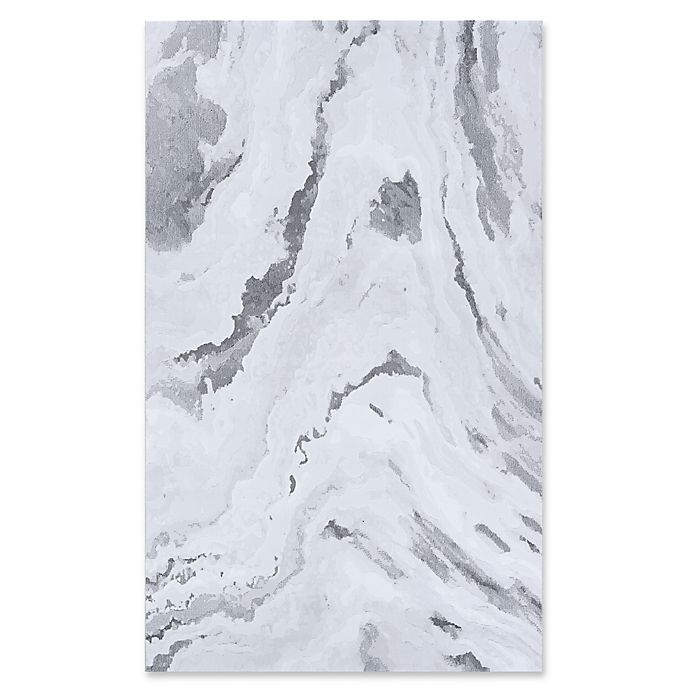 Alternate image 1 for Couristan Abstract Marble Area Rug in Grey