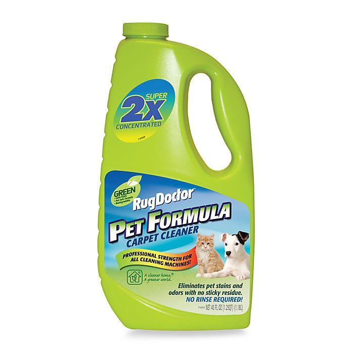 Rug Doctor® Green Pet Formula Carpet