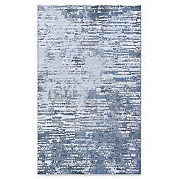 Couristan® Cryptic 5'3 x 7'6 Area Rug in Grey/Opal