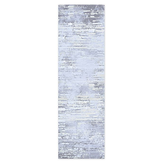Alternate image 1 for Couristan Cryptic 2'2 x 7'10 Runner in Light Grey