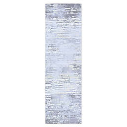 Couristan Cryptic 2'2 x 7'10 Runner in Light Grey