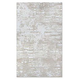 Couristan® Cryptic 7'10 x 10'9 Area Rug in Beige/Champagne