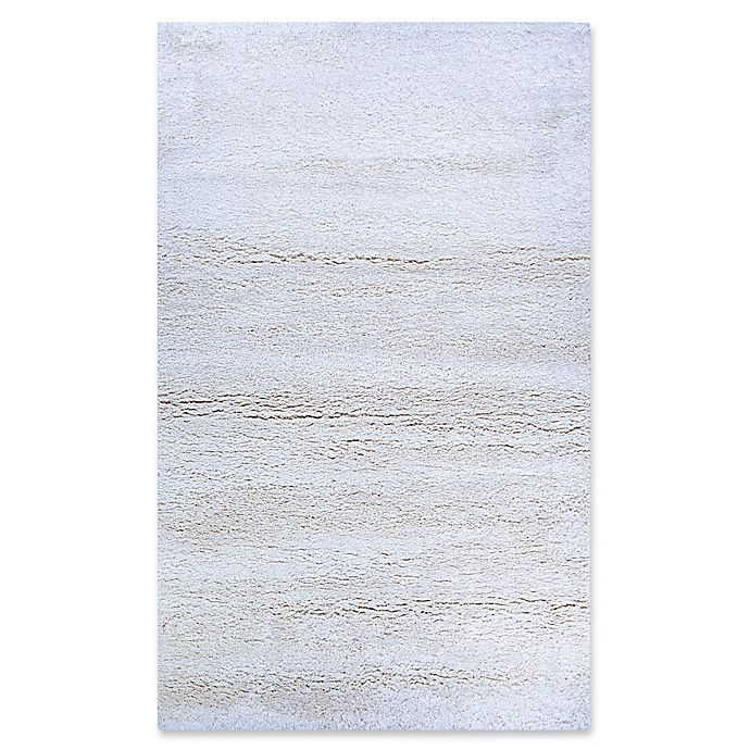 Alternate image 1 for Couristan Medina Urban Shag 2' x 3'11 Area Rug in White