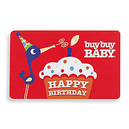 """""""HAPPY BIRTHDAY"""" Red Gift Card"""