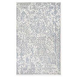 Couristan® Marina Lillian 5'3 x 7'6 Area Rug in Oyster/Slate Blue